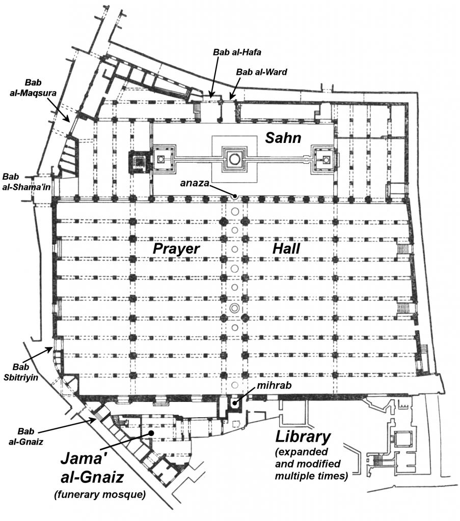 Qarawiyyin_floor_plan
